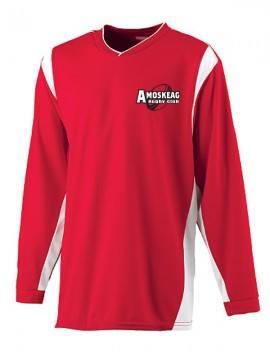 Rugby Club- Wicking Long Sleeve Warmup Shirt