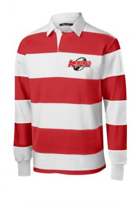 Long Sleeve Rugby Polo (Unisex Sizing)