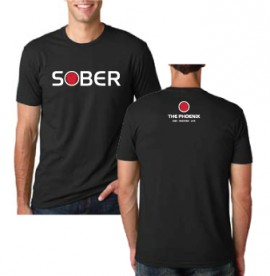 THE PHOENIX SOBER MENS TEE