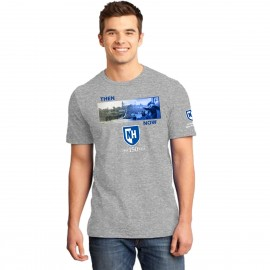 UNH THEN & NOW: COMMENCEMENT TEE