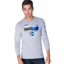 UNH THEN & NOW: COMMENCEMENT TEE LONGSLEEVE