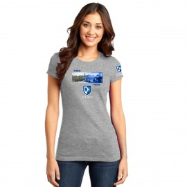 UNH-004W THEN & NOW LADIES TEE