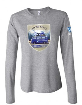 UNH 150TH ANNIVERSARY VW TRIP LADIES LONGSLEEVE