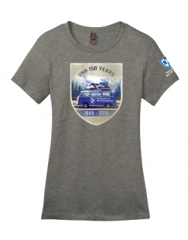 UNH 150TH ANNIVERSARY VW TRIP LADIES TEE