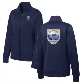 UNH 150TH ANNIVERSARY LADIES SPORT-WICK FULL ZIP JACKET
