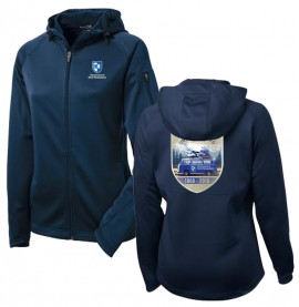 UNH 150TH ANNIVERSARY LADIES TECH FULL ZIP HOODED JACKET