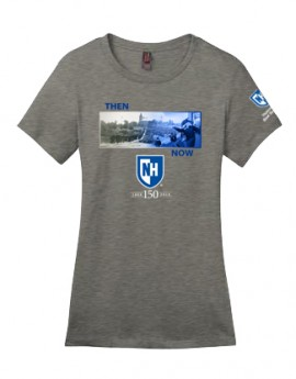 UNH THEN & NOW: COMMENCEMENT LADIES TEE