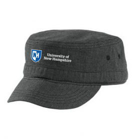 UNH HOUNDSTOOTH MILITARY HAT