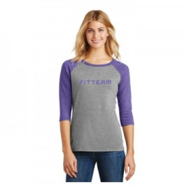 Ladies Perfect Tri® 3/4-Sleeve Raglan