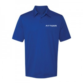 FITTEAM PERFORMANCE 3 BUTTON GOLF SHIRT- MANY COLOR CHOICE INSIDE