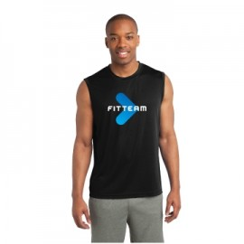 FITTEAM POSICHARGE SLEEVELESS SHIRT