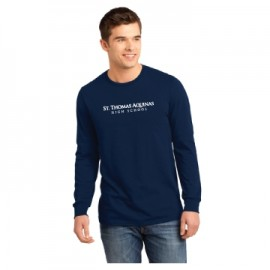 ST THOMAS AQUINAS YOUNG MENS LONG SLEEVE CONCERT T DT5200