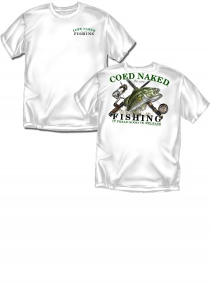 Coed Naked® Fishing, Authentic