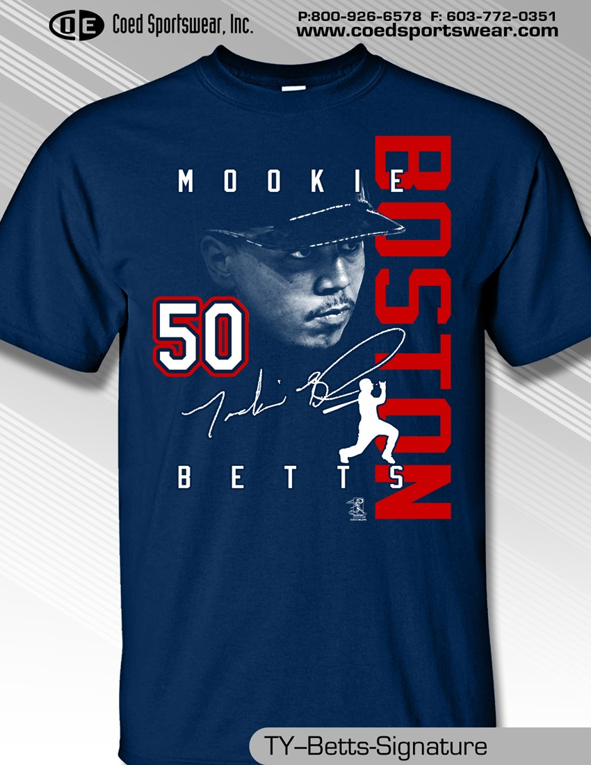 MOOKIE BETTS SIGNATURE SHIRT