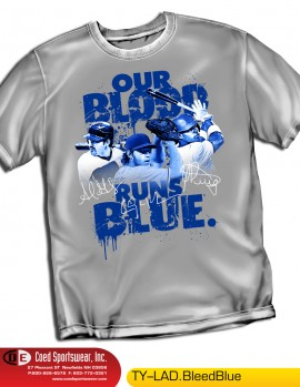 LOS ANGELES BLEED BLUE SHIRT