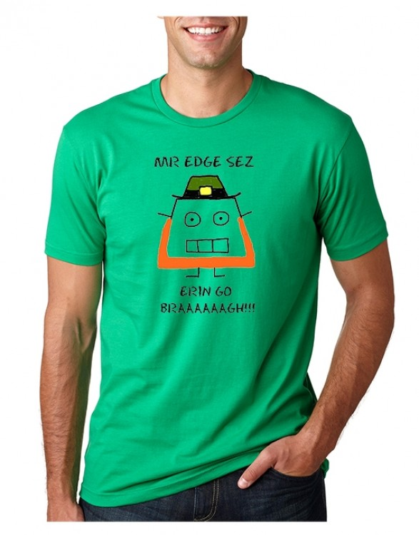 MR EDGE ST PATRICK DAY GREEN TEE