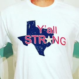 Houston Y'all Strong T-shirt