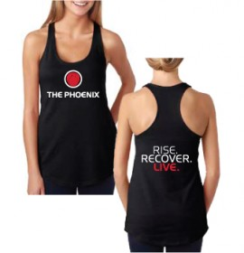 THE PHOENIX RISE RECOVER LIVE WOMENS TANK