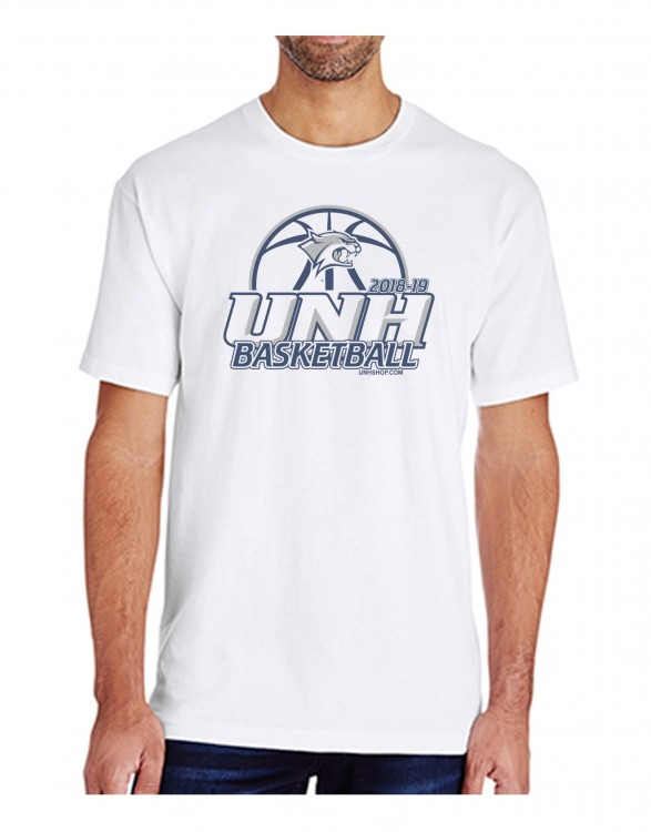 UNH BASKETBALL GAME DAY UNISEX TEE