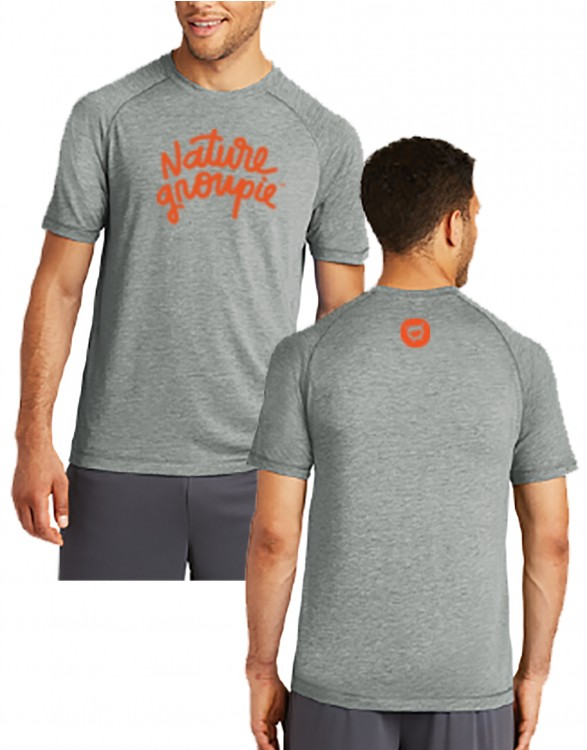 NATURE GROUPIE MEN'S TRI-BLEND WICKING TEE