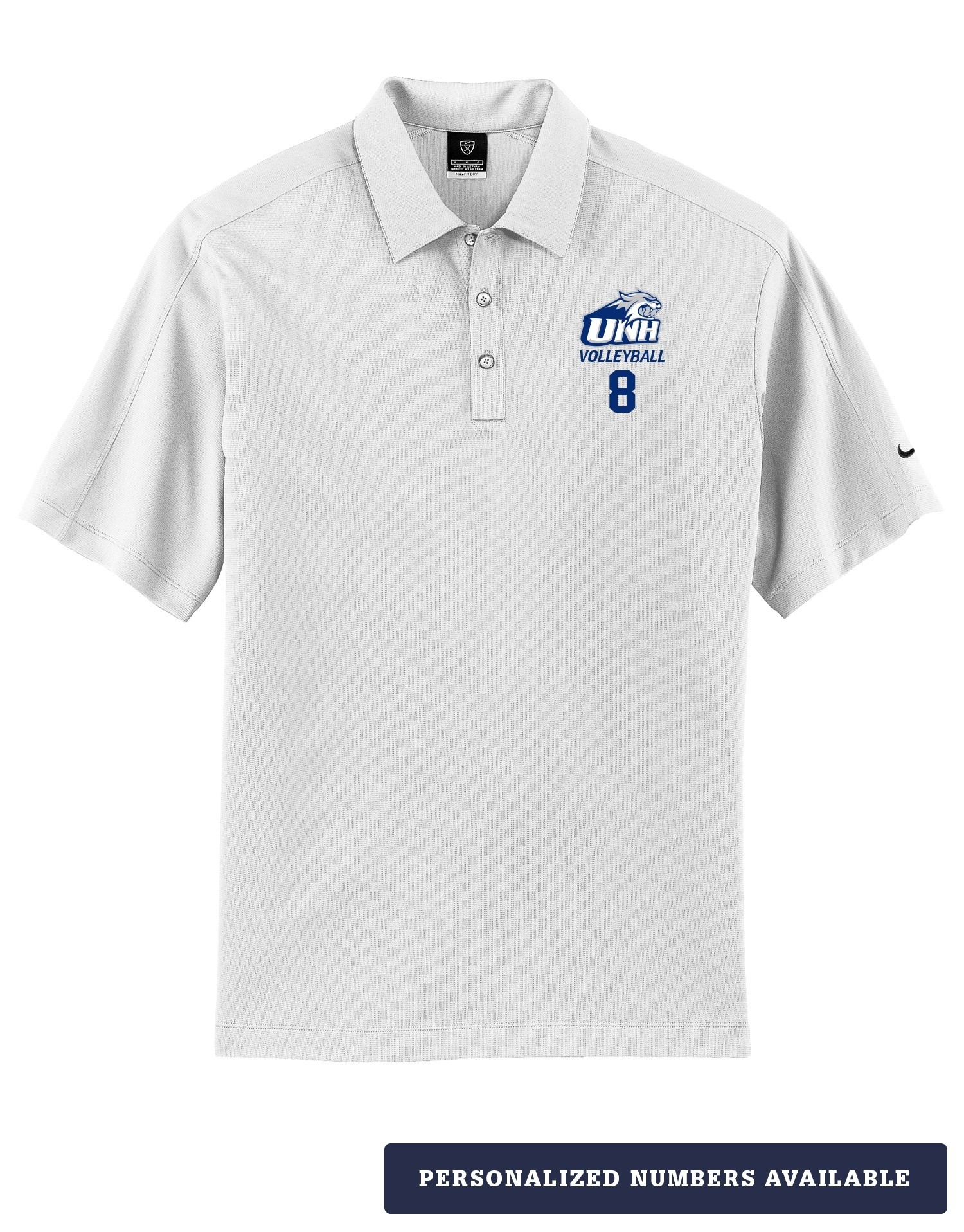 Unh Volleyball Men S Nike Dri Fit Polo Volleyball Apparel