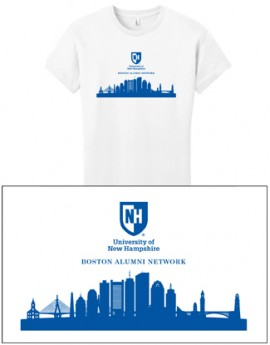UNH CITY ALUMNI WOMEN'S TEE - BOSTON