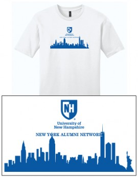 UNH CITY ALUMNI MEN'S TEE - NEW YORK