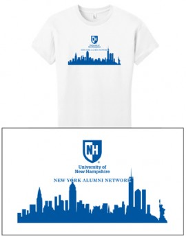 UNH CITY ALUMNI WOMEN'S TEE - NEW YORK