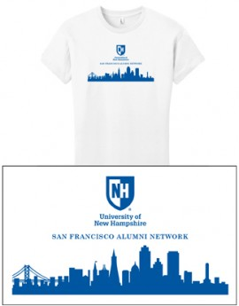 UNH CITY ALUMNI WOMEN'S TEE - SAN FRANCISCO
