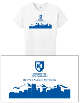 UNH CITY ALUMNI WOMEN'S TEE - DENVER