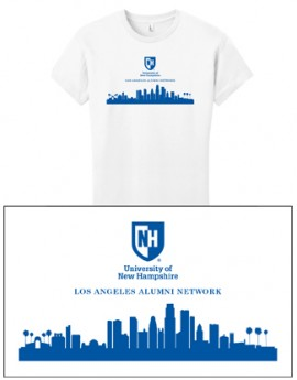 UNH CITY ALUMNI WOMEN'S TEE - LOS ANGELES