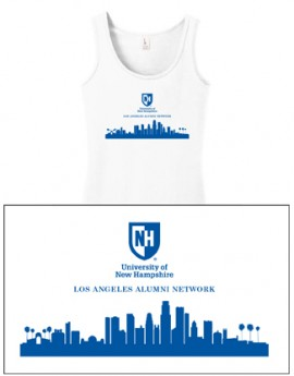 UNH CITY ALUMNI LADIES TANK TOP - LOS ANGELES