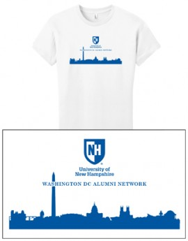 UNH CITY ALUMNI WOMEN'S TEE - DC
