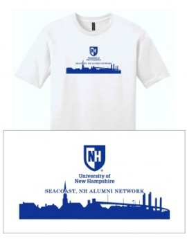 UNH CITY ALUMNI MEN'S TEE - SEACOAST, NH