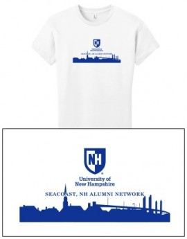 UNH CITY ALUMNI WOMEN'S TEE - SEACOAST, NH