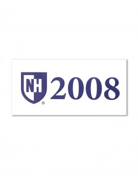 UNH 2008 REUNION STICKER