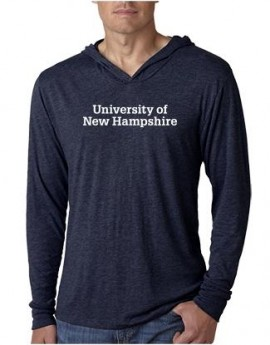 UNH STACKED UNISEX TRIBLEND LONG-SLEEVE HOODY