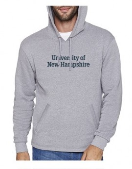 UNH STACKED ADULT PULLOVER HOODY