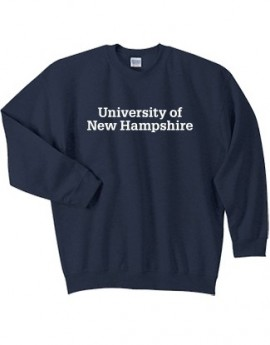 UNH STACKED UNISEX CREWNECK
