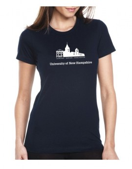 UNH BUILDING SILHOUETTE WOMEN'S TEE