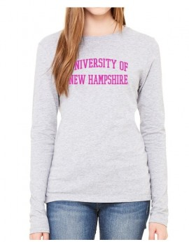 UNH TEXT WOMEN'S LONG SLEEVE