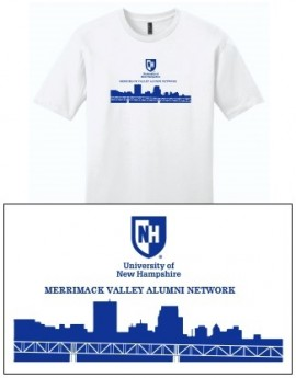 UNH CITY ALUMNI MEN'S TEE - MERRIMACK VALLEY