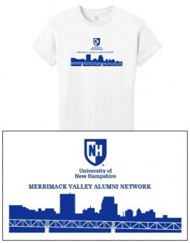UNH CITY ALUMNI WOMEN'S TEE - MERRIMACK VALLEY