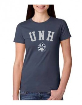 UNH PAW WOMEN'S COTTON TEE