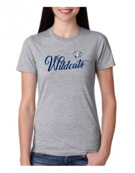 UNH WILDCATS WOMEN'S COTTON TEE