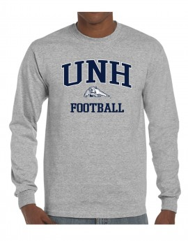 UNH WILDCAT FOOTBALL UNISEX LONG SLEEVE TEE