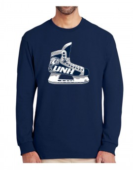 UNH CAT HEAD SKATE UNISEX LONG SLEEVE TEE