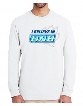 UNH BELIEVE CHISELED UNISEX LONG SLEEVE TEE