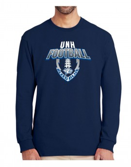 UNH EDGE FOOTBALL UNISEX LONG SLEEVE TEE
