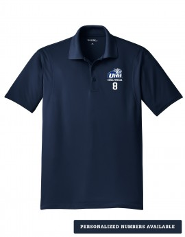 UNH VOLLEYBALL MEN'S SPORT WICK POLO